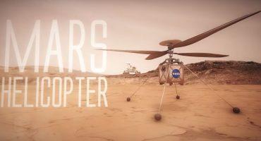 La NASA quiere mandar un helicóptero a Marte para tener una vista aérea del planeta