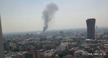Se reporta incendio cerca de Parque Delta