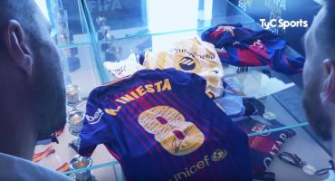 El emotivo mensaje de despedida que le deja Iniesta a Messi