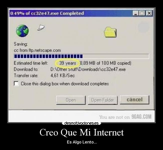 Internet Lento