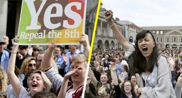 Irlanda vota masivamente para eliminar ley anti aborto