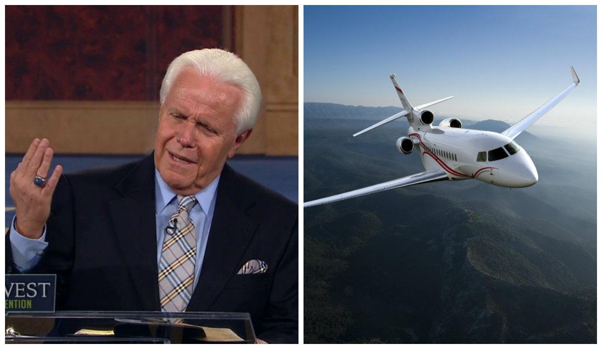 Evangelista pide a sus seguidores 54 millones de dólares para estrenar avión. 'Dios quiere que lo tenga', dice