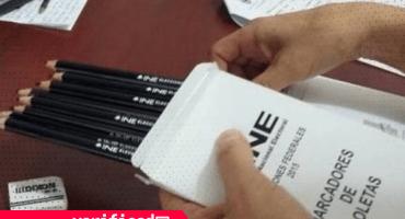 #Verificado2018 ¿Qué tan efectivos son los lápices del INE ante los 'borrones' en la boleta?