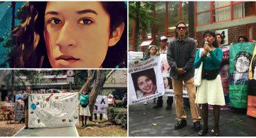 A un año del feminicidio de Lesvy Rivera Osorio, universitarixs y familiares exigen justicia