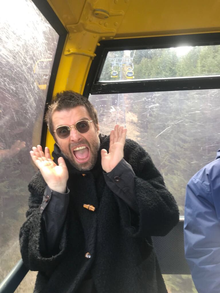 No pos' buena suerte: La BBC está tratando de lograr que Liam Gallagher no diga palabrotas en su festival