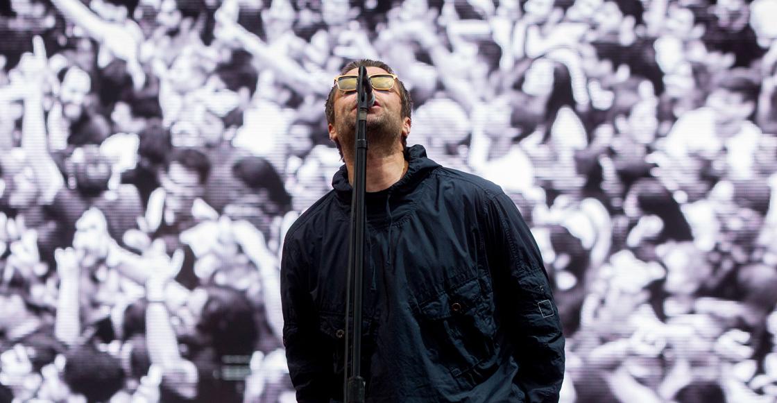 Liam Gallagher en vivo