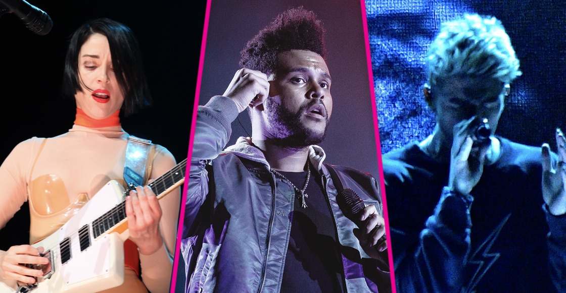 ¡The Weeknd, St. Vincent, y The Chainsmokers confirmados para el Live Out 2018!
