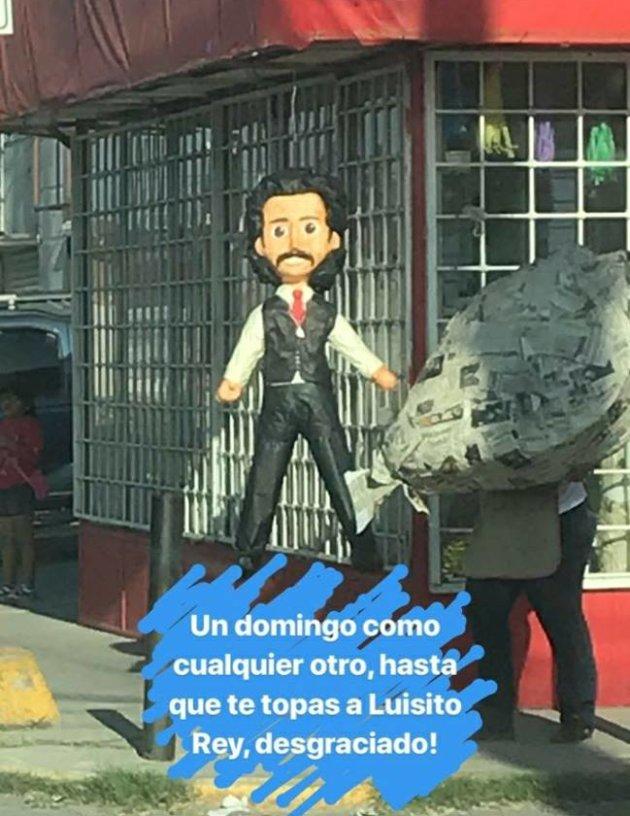 Odio al papá de Luis Miguel nivel: Ya hay piñata de Luis Rey