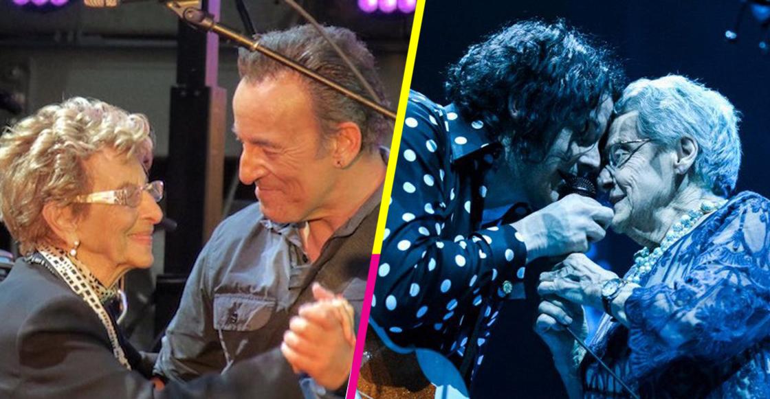 ¡Las madres del rock! 5 músicos que han subido a sus mamás al escenario 🤘🏻❤️
