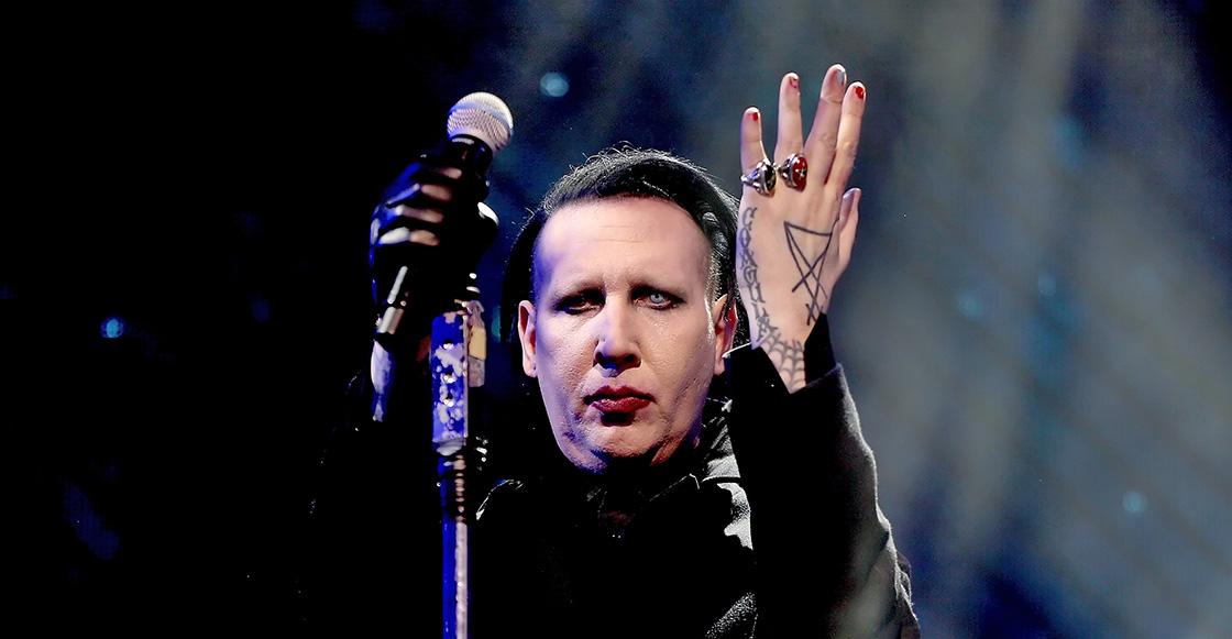 WTF?! Para Marilyn Manson 'era divertido' orinar en la comida de Korn