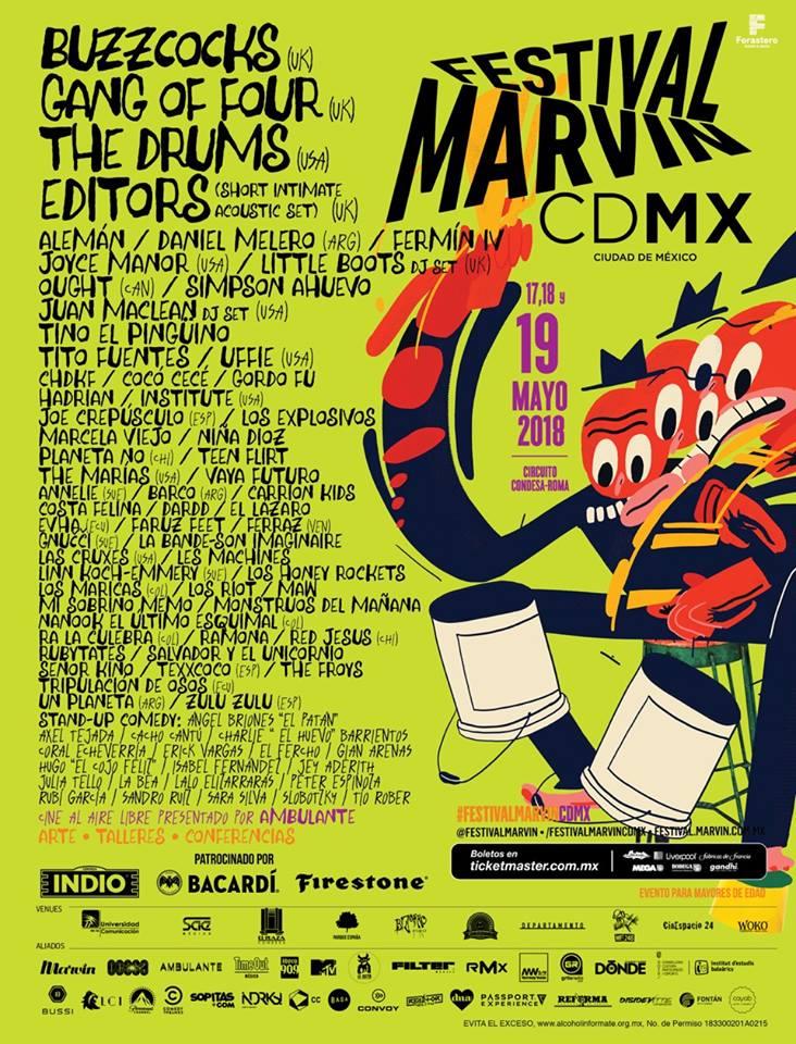 Festival Marvin: ¿Cómo, cuándo y dónde? Aquí está todo lo que debes saber