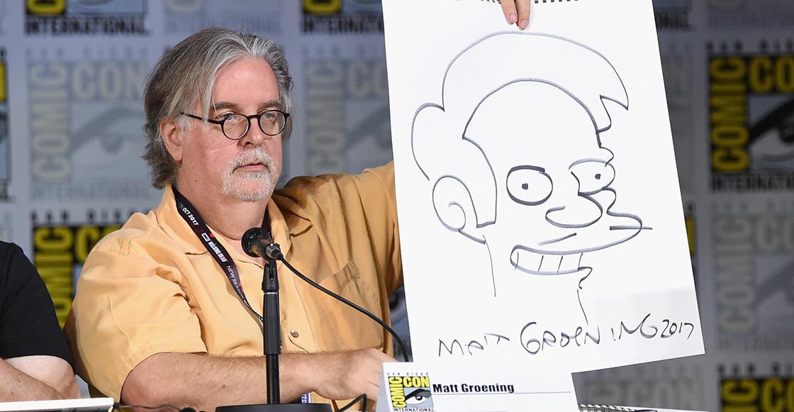 'La gente ama hacerse la ofendida': Matt Groening sobre la controversia de Apu