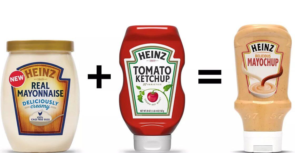 mayonesa y Cátsup en unsóloproducto