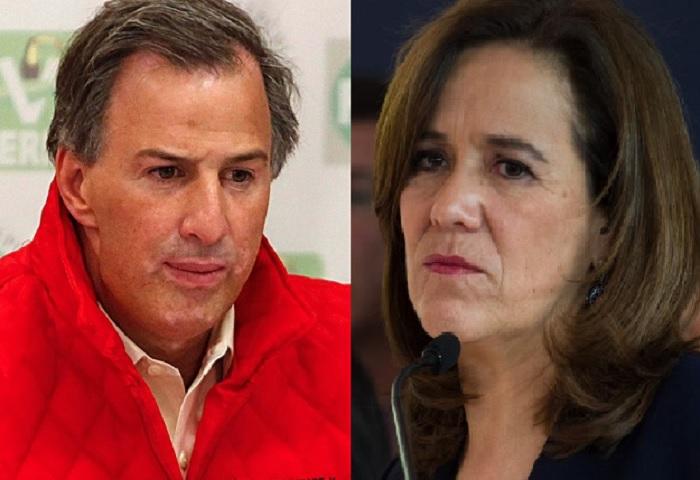 José Antonio Meade y Margarita Zavala