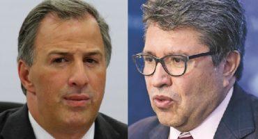 Y en la imagen del día: Pepe Meade y Ricardo Monreal juntos... ¡¿falla en la Matrix!?
