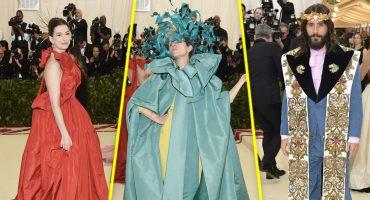 11 vestuarios tejidos por la mismísima Virgen María en la Met Gala 2018