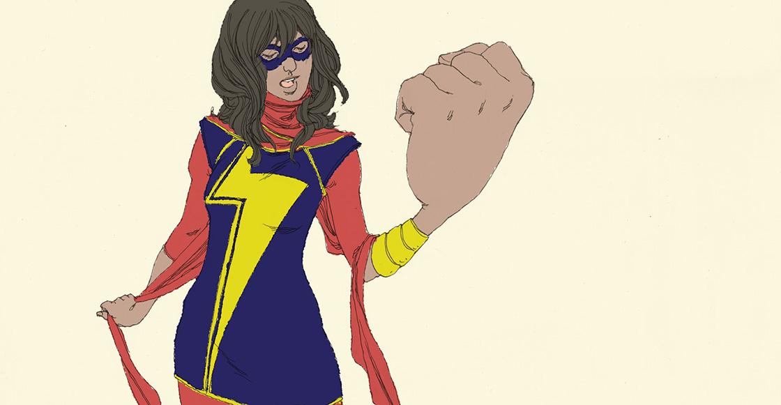 Marvel podría presentar a Ms Marvel, la primera superheroína de origen musulmán