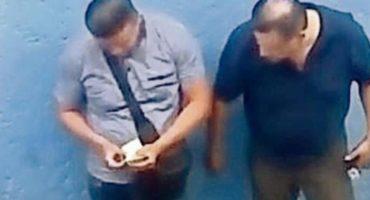 Graban a agentes de la PGJ recibiendo narcosobornos en Tepito