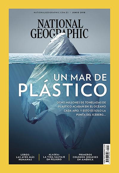 'Iceberg Plástico': La portada de un mexicano para National Geographic... y el mundo