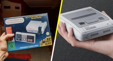 ¿Listo para traer tu infancia de vuelta? ¡Nintendo NES y SNES mini, regresan a las tiendas! 