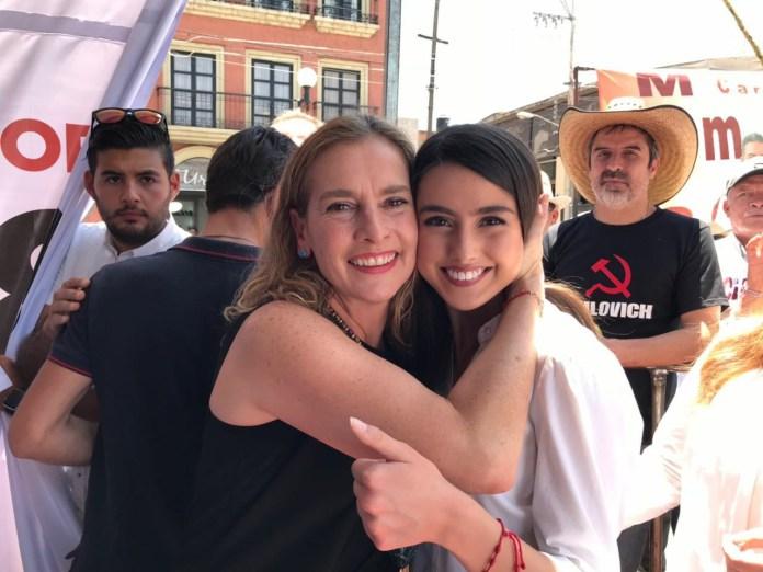 Tatiana Clouthier y Paola González