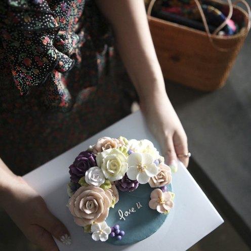 Estos pasteles de flores se ven tan reales que no vas a querer comerlos