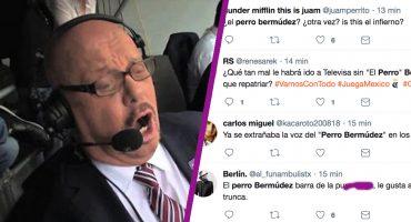 ¡Vamos muchacheeees! El Perro Bermúdez regresó a Televisa y las reacciones no se hicieron esperar