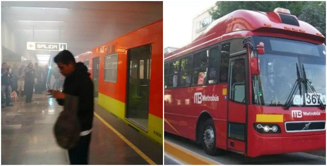 plan de contingencia colapso metro metrobús