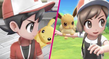 ¡Al fin! 'Pokémon: Let's Go Pikachu!' y 'Let's Go Evee!' llegan a Nintendo Switch