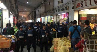 Y la inseguridad sigue...Una mujer policía muere durante un asalto en la Central de Abastos de Iztapalapa