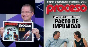 ¿Qué pasó? Ricardo Anaya recortó la portada de Proceso que lo criticaba