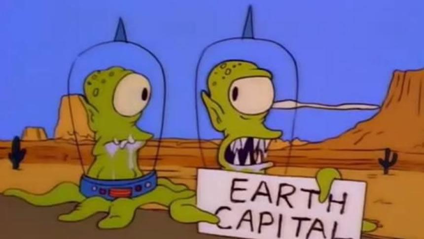 Aliens de los Simpson
