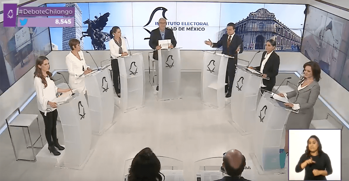 Las frases y propuestas del segundo #DebateChilango
