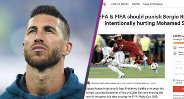 Más de 400 mil personas han firmado en Change.org para dejar a Sergio Ramos sin Mundial 😱