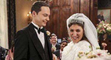 ¡Sí sale Mark Hamill! Ya hay fotos de la boda de Sheldon y Amy en 'The Big Bang Theory'