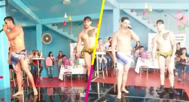 Líder de Morena festeja en Ecatepec a las mamás con... ¿strippers?