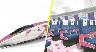 ¡Habrá un tren bala de Hello Kitty en Japón a partir del 30 de junio!