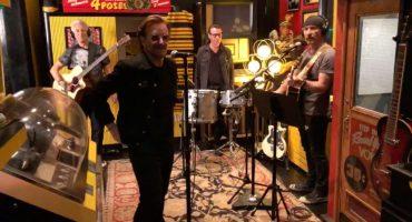 U2 graba íntima sesión en la disquera de Jack White para un vinilo edición limitada