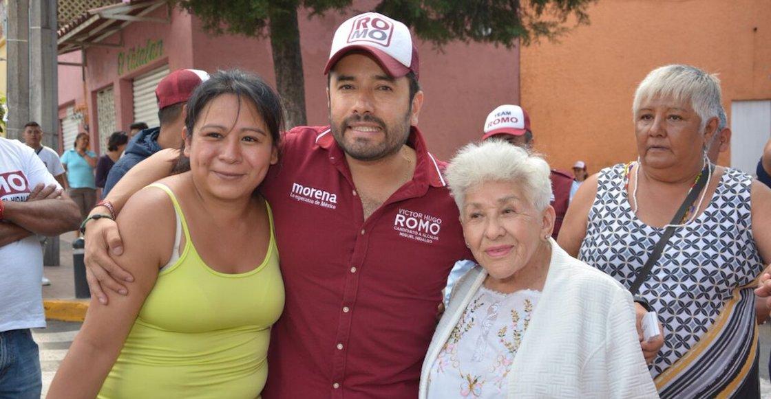Victor Romo candidato Miguel Hidalgo Morena