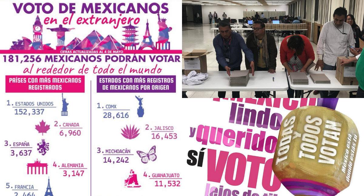 voto extranjero ine elecciones 2018