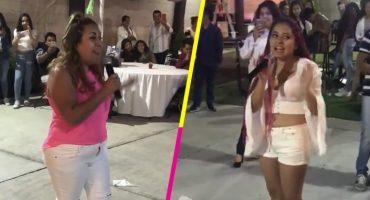 Esta quinceañera se echó una batalla de rap con su mamá en sus XV y hasta salió regañada 😂