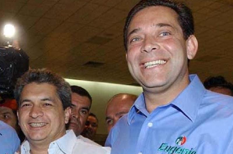 Tomás Yarrington y Eugenio Hernández