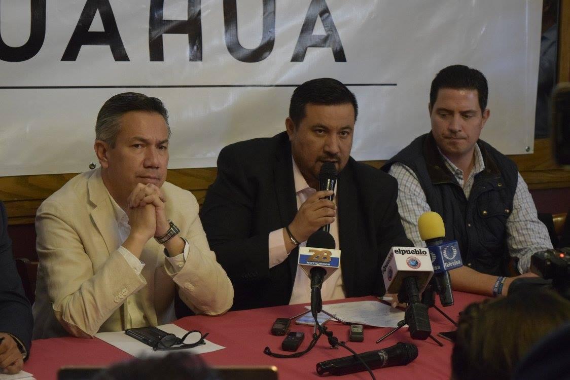 Édgar Mendoza, candidato del PRD a alcaldía de Gómez Farías, Chihuahua