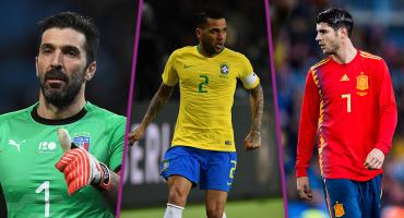 Acá nuestro 11 ideal de jugadores que se quedaron sin su Rusia 2018