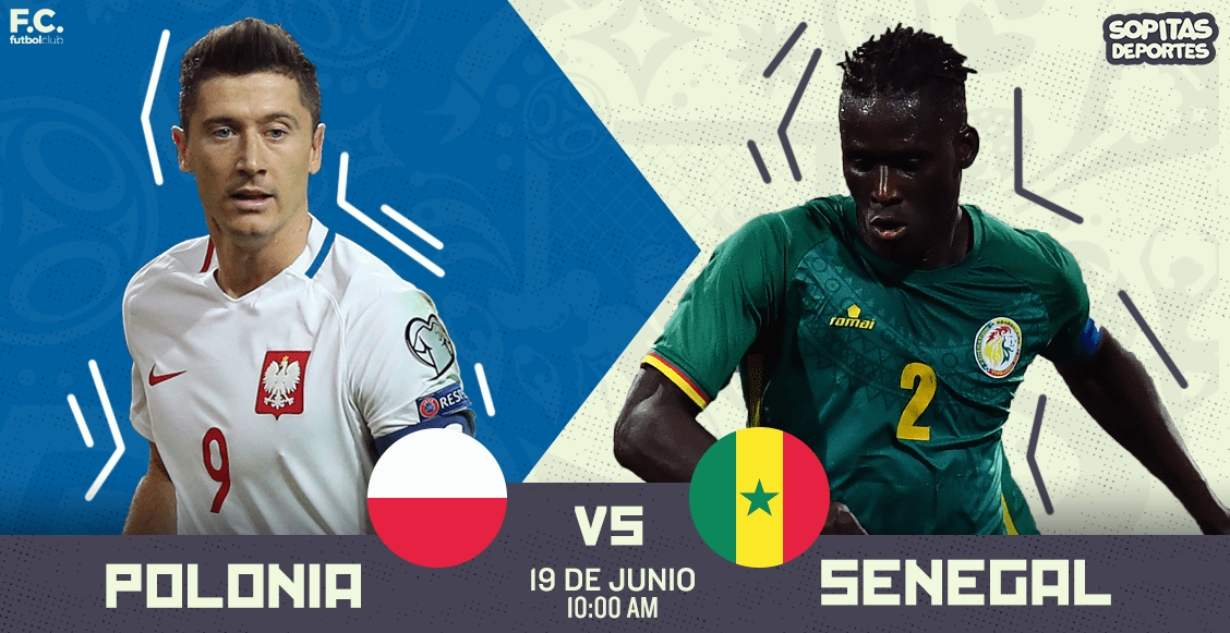 Debuta Lewandowski — Polonia vs Senegal