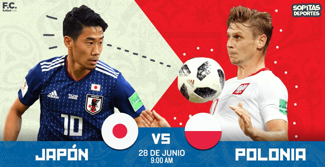 Japón se clasificó por Fair Play tras perder ante Polonia