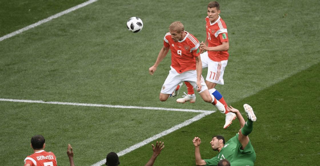 Rusia golea a Arabia