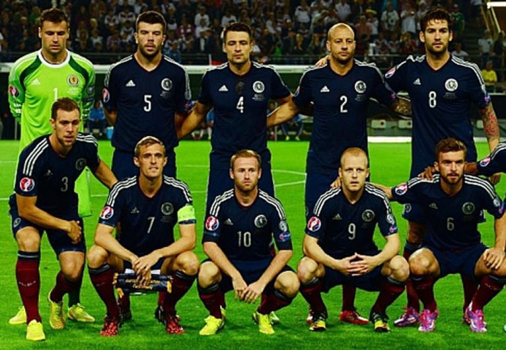 Selección de Escocia frente a México
