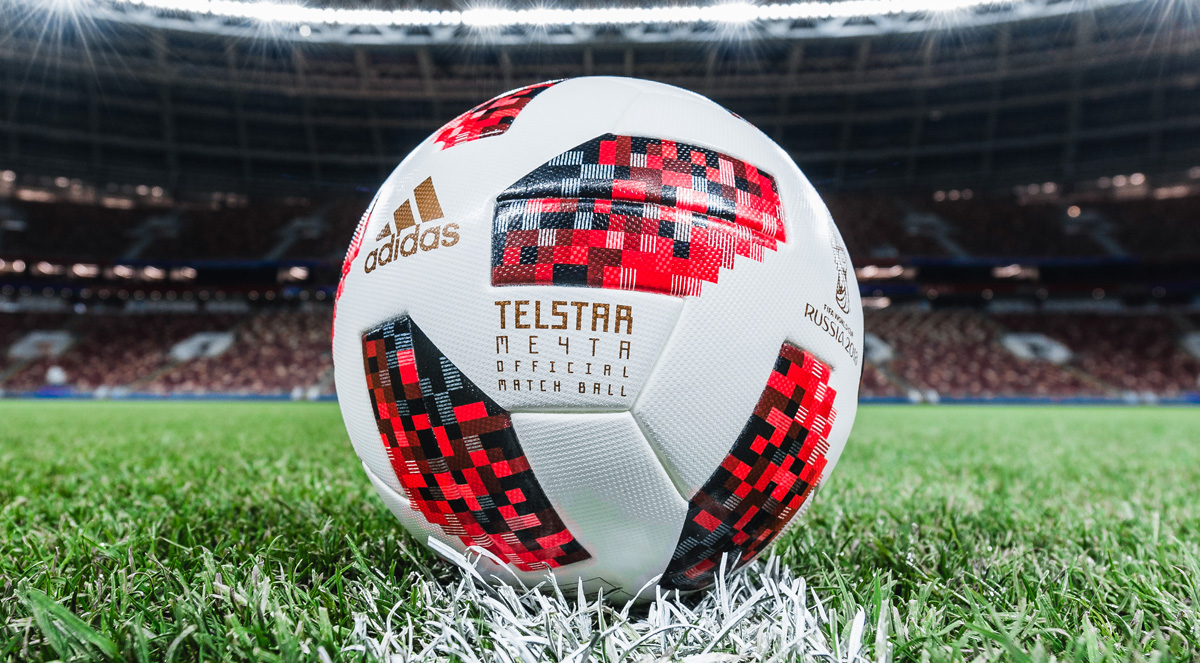 Adidas Telstar balon final Rusia 2018