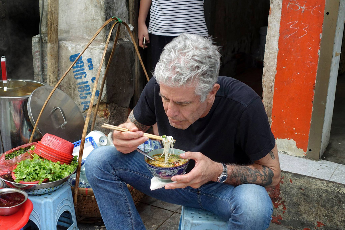 Anthony Bourdain Suicidio